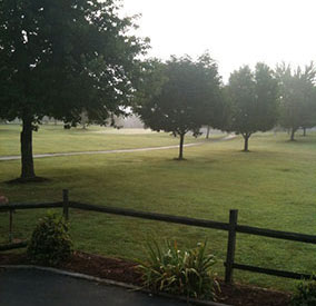 Cozy Acres Golf Course Early Morning