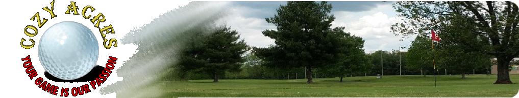 Cozy Acres Golf
